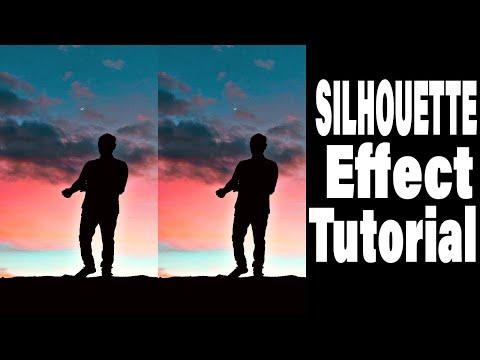 PicsArt Tutorial   Edit SILHOUETTE Effect   Mobile Editing