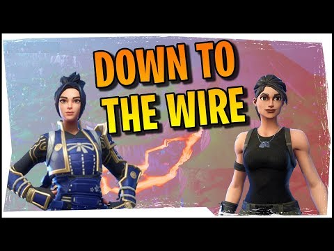 Hysteria | Fortnite Battle Royale - Down To The Wire (Arena Duos With Blind)