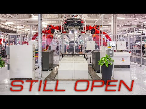 Why Tesla's Factories Are Open - And Why They Shouldn't Be Right Now