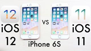 iPHONE 6S: iOS 12 Vs iOS 11! (Speed Comparison)