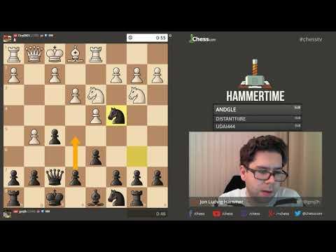 Hammer versus Bartholomew   Fischer Random match