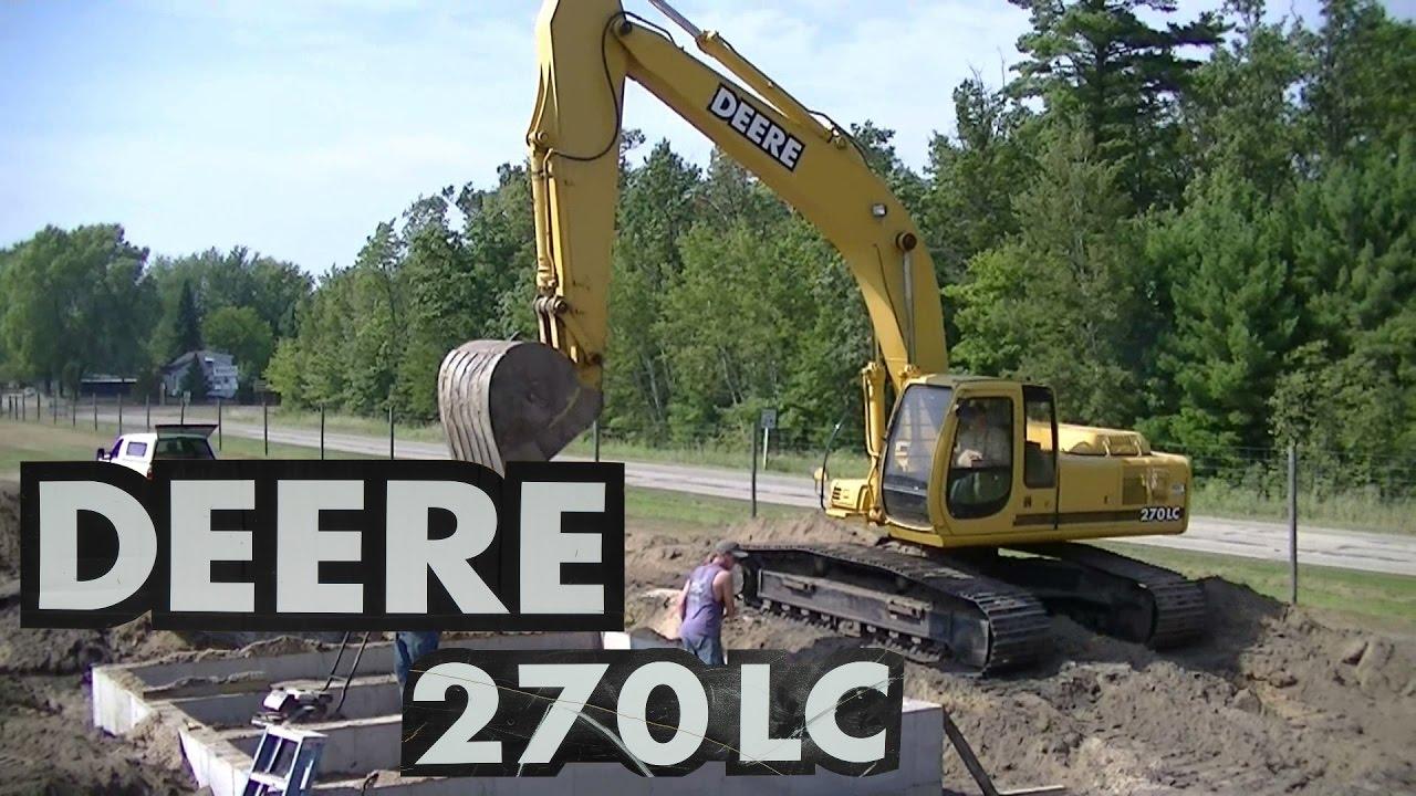 John Deere Excavator Digging Youtube
