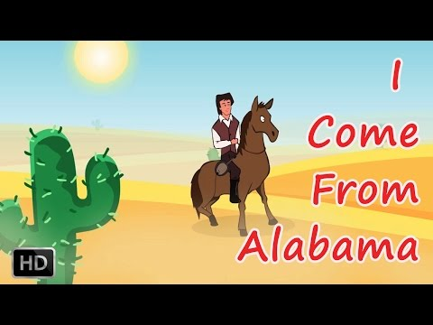 I Come From Alabama With A Banjo On My Knee - Nursery Rhymes for Children