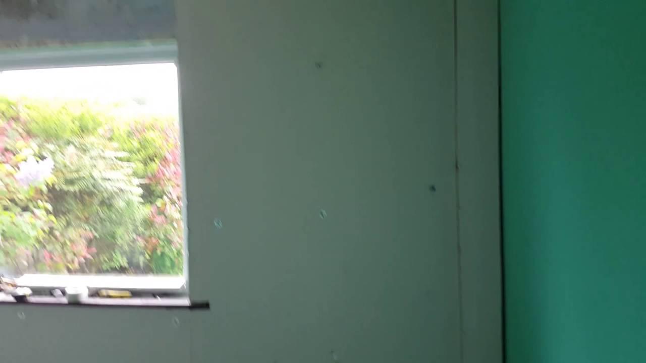 Bathroom Makeover Kildare house doctor | dry lining insulation preparation work in newbridge