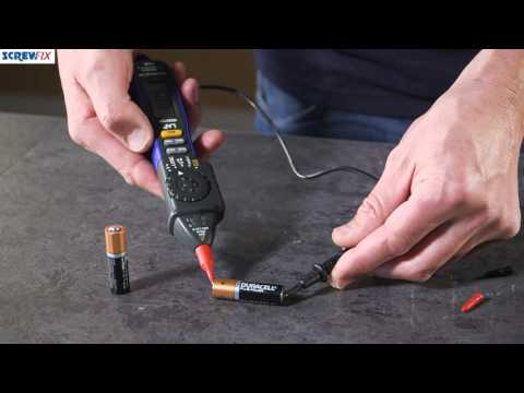KEWTECH KT1780/S AC/DC VOLTAGE TESTER | Screwfix from YouTube · Duration:  1 minutes 28 seconds