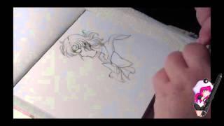 #Inktober 2015, Sailor Merkur, Copic