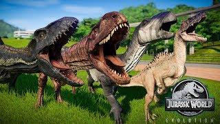 Download Jurassic World Evolution Indoraptor Vs