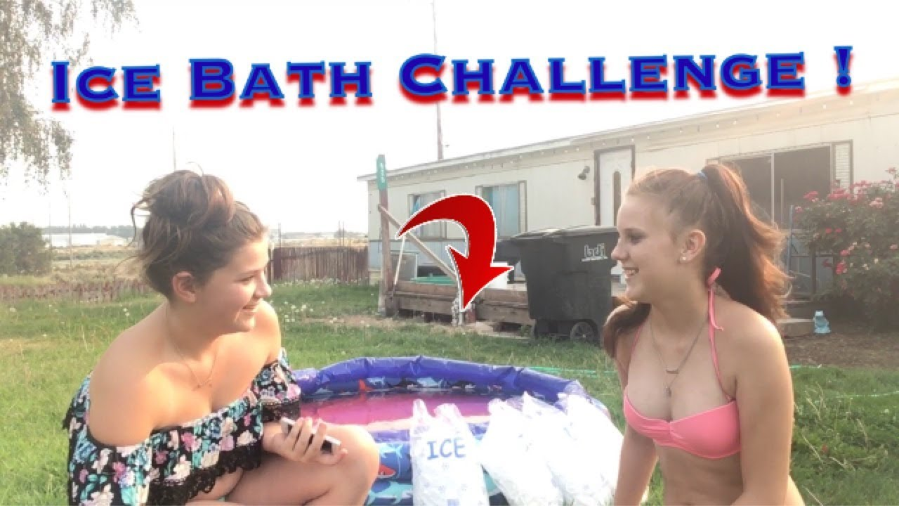 The Ice Bath Challenge !!🤪