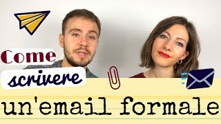 How to Write a Formal Email in Italian - Learn Italian Formulas and Rules to Send an Email