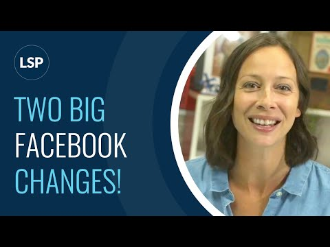 NEWS! 2 Big Facebook Changes affecting your LIVE Videos...