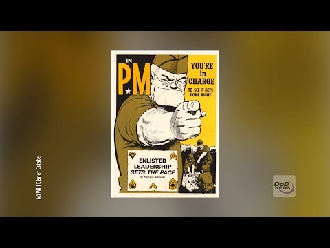 From pulp fiction to completing the mission, comic-book legend Will Eisner's characters continue to keep soldiers mission-ready through PS Magazine, a monthly Army product focused on preventive maintenance.  Video by Sgt. Luther Washington