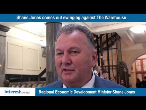 Shane Jones at it again – calls out another major NZ company chairperson