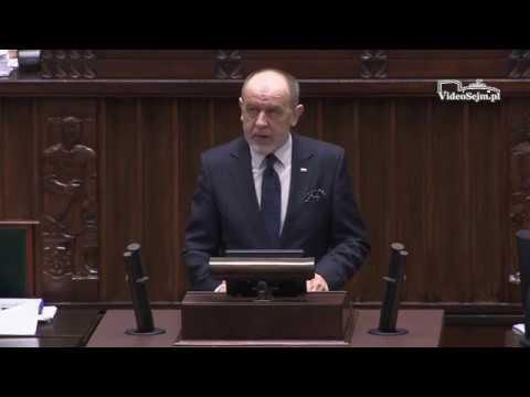Jan Mosiński – wystąpienie z 11 stycznia 2018 r.