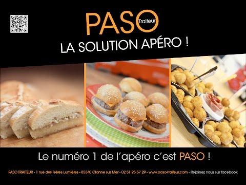Vidéo Spot Radio Paso Traiteur - Voix Off: Ludovic Pinette et Marilyn Heraud