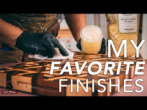 My 4 Favorite Finishes and How to Apply Them