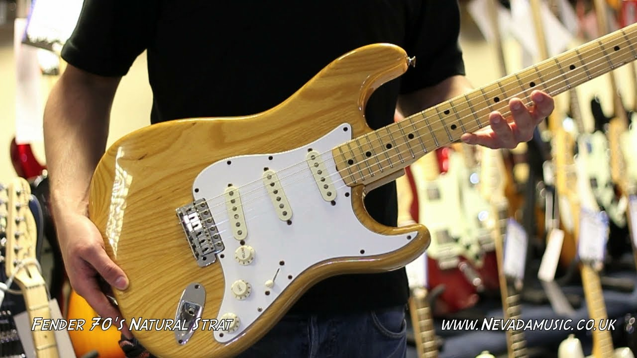 Used Fender 1970 S Natural Strat For Sale Quick Look
