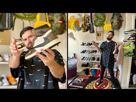 TURNING MY ROOM INTO A SNEAKER STORE!! *$1,000 GIVEAWAY*