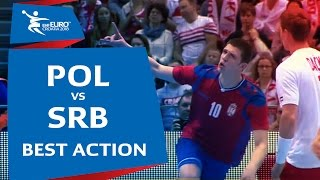 Djukic devastating for Serbia | Poland vs. Serbia | EHF EURO 2018 Qualification