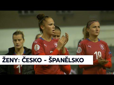 Ženy: Česko - Španělsko 1:5 (0:4)