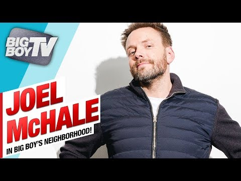 Joel McHale on His New Netflix Series & How Ugly Donal Glover Is