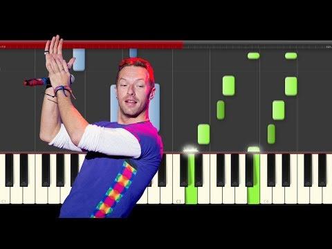 Coldplay The Scientist piano midi tutorial sheet partitura easy cover karaoke