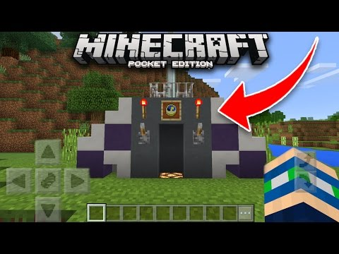 How To Build A Time Machine In Minecraft PE! (Pocket Edition)