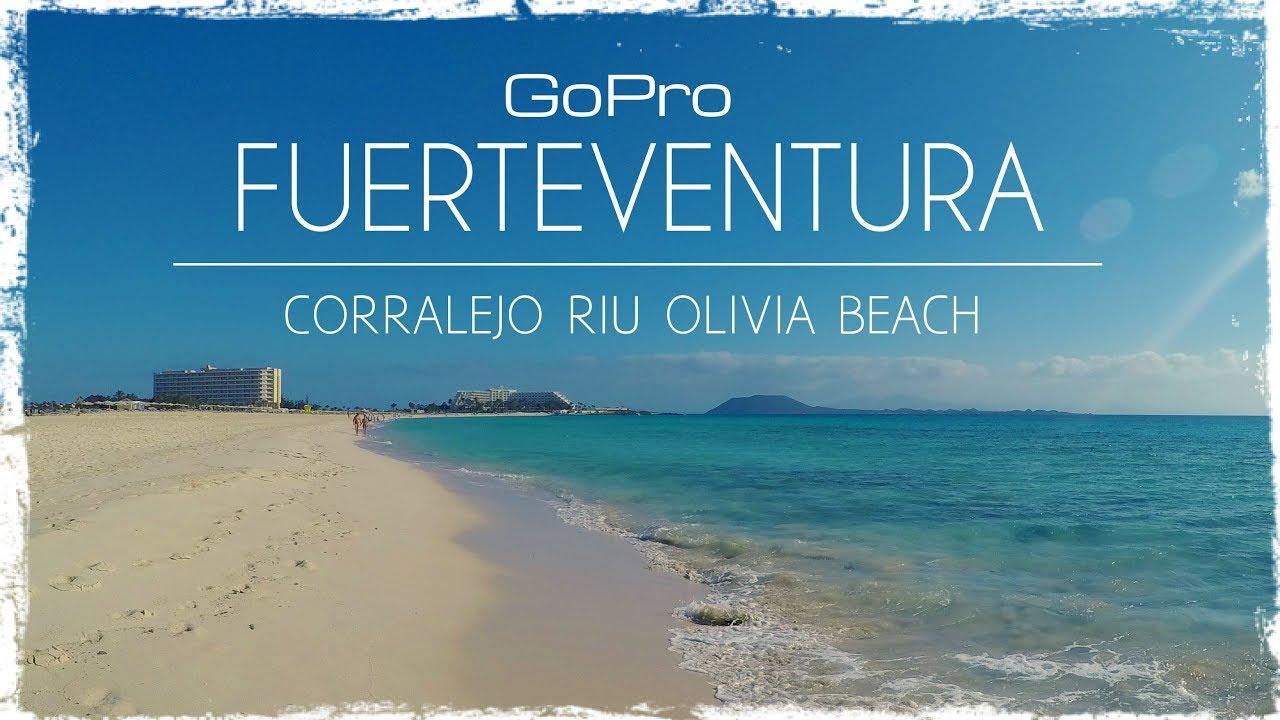 Fuerteventura 2017 corralejo riu oliva beach gopro youtube for Riu oliva beach fuerteventura