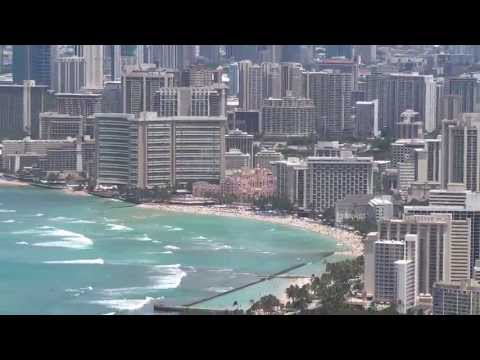 Honolulu Skyline from Diamond Head