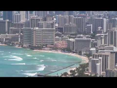 Honolulu Skyline from Diamond Head