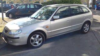 Diagnose des ABS bei Mazda 323f von 2001 mit 98PS (ABS Fehlerdiagnose mittels Blinkcode)