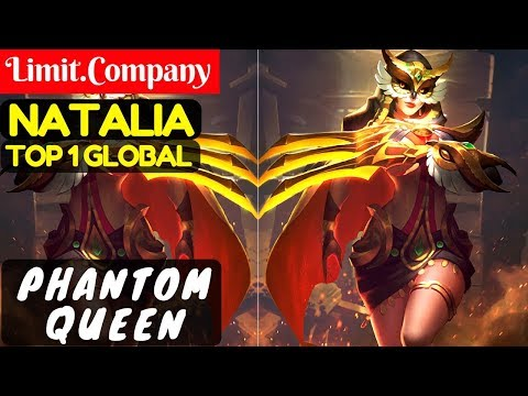 Phantom Queen [Top 1 Global Natalia] | Limit.Company Natalia Gameplay & Build #1 Mobile Legends