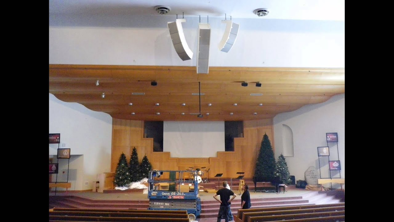 Church Speaker Install Youtube