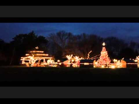 Livingston New Jersey Camuso Holiday Display.wmv