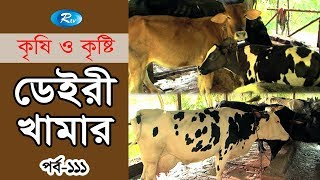 Krishi o Krishti | ডেইরী খামার | Dairy Farm | Ep - 111 | Rtv Lifestyle | Rtv
