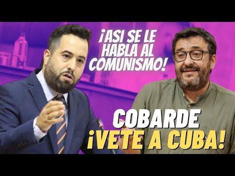 """""""¡COBARDE, SI QUIERES COMUNISMO VETE A CUBA!""""   Fran Carrillo DESTROZA a un PODEMITA ¡POR"""