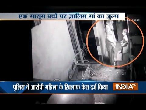 CCTV Video: 18-month-old Kid Brutally...