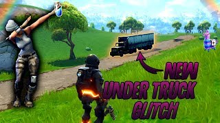"Fortnite Glitches:""New"" [Under Truck Glitch]!! Best and Easy [Online Spot] Fortnite!!"
