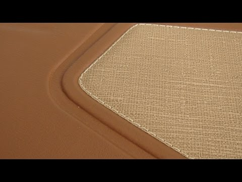 Raised Car Door-Panels in Leather - Auto Upholstery