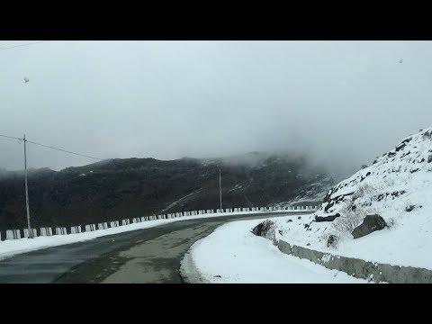 Gangtok to Nathula Changu Baba-Mandir Winter Trip 2017 | Part 2 | Nathula on Mansarovar Yatra Route