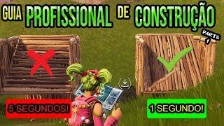 TUTORIAL DE CONSTRUÇÃO PARTE 1 - COMO EDITAR CONSTRUÇÕES NO FORTNITE
