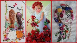Top Stunning And Gorgeous Doll Hand Embroidery Pattern Unique Designs
