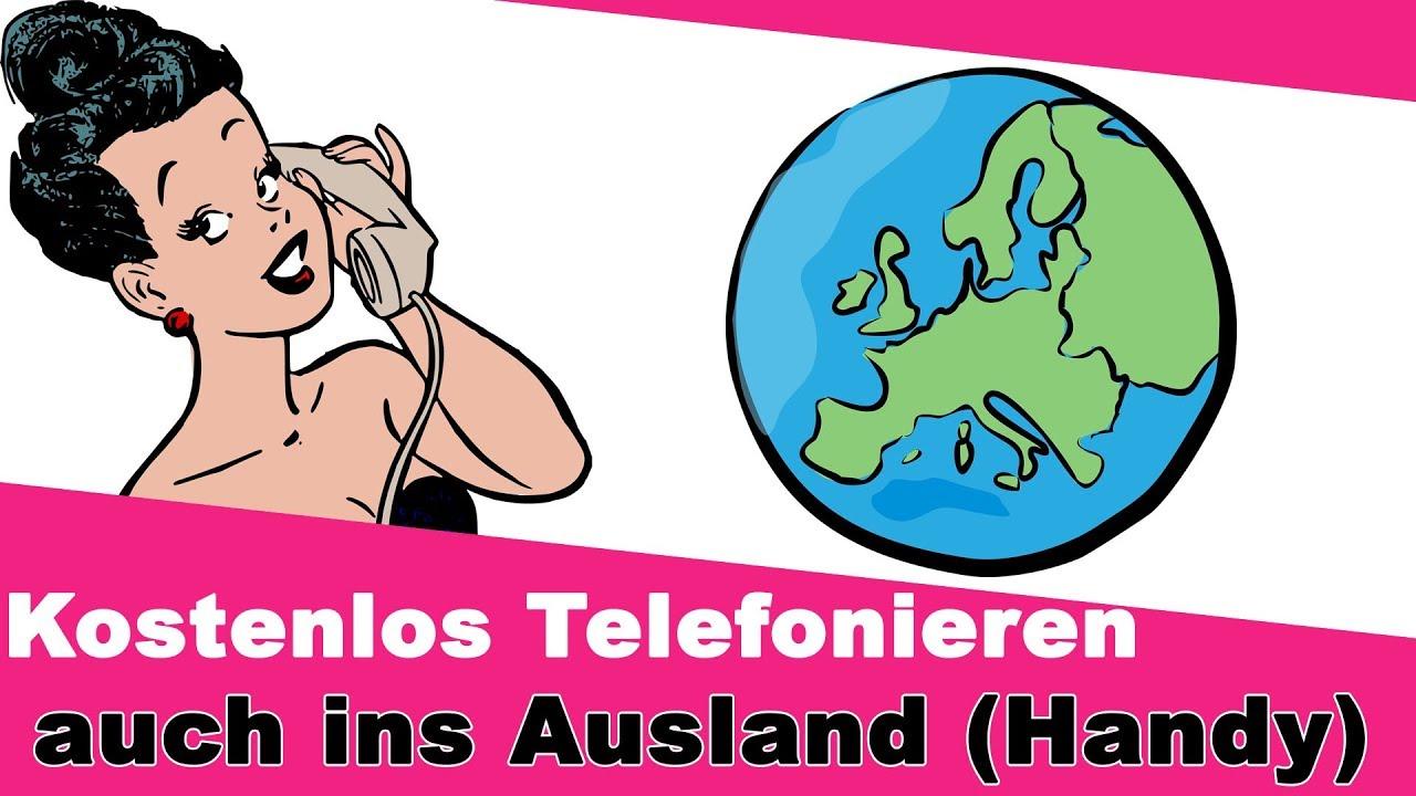 Ins Ausland Telefonieren