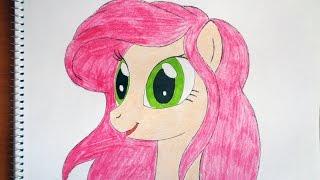 How to draw my little pony Ariel, Как нарисовать пони, как рисовать пони
