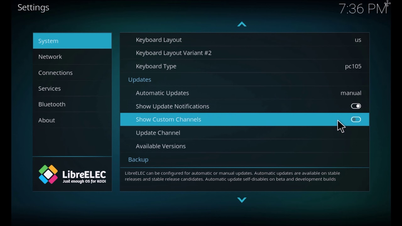 How to Upgrade to LibreELEC 9 (Leia) KODI