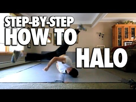 How To Breakdance Halo Tutorial