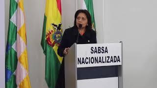 Gisela Lopez, Ministra de Comunicaciones de Bolivia - Marca Pais