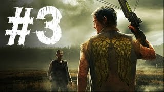 The Walking Dead Survival Instinct Gameplay Walkthrough Part 3 - The Cinema (Video Game)
