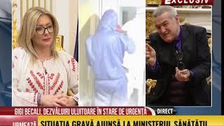 Ediție-spectacol cu Gigi Becali de Paște