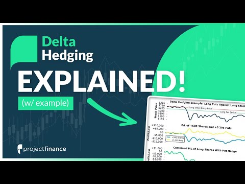 Delta Hedging Explained   Options Trading Lesson