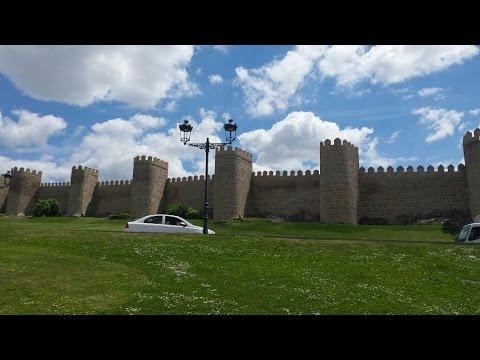 AVILA España : La ciudad de la Mística  (1ª Parte)